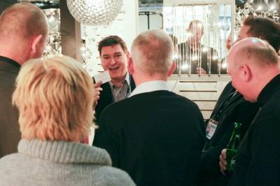 Underhållning mässa mässunderhållning magiker EGLO Stockholmsmässan