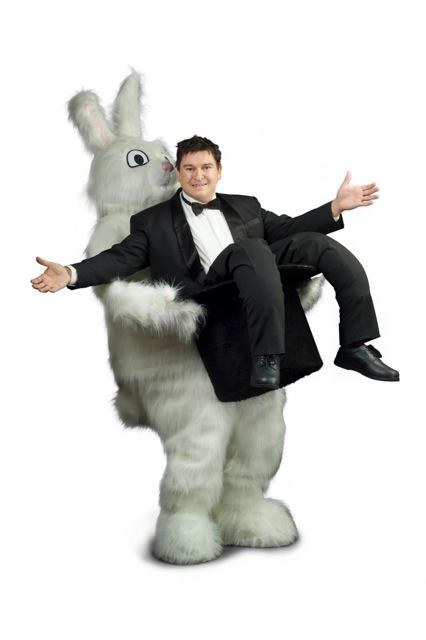 vandrande illusion trollkarl och kanin