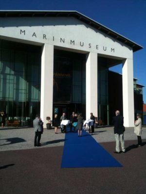 Invigning av Marinmuseum i Karlskrona av magiker Hans Lindström