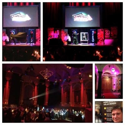 magiker Boxer Sales Awards Stockholm prisutdelning