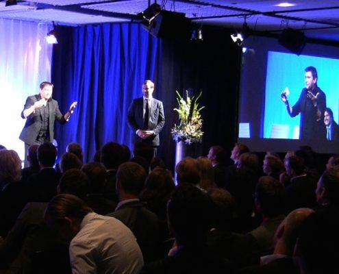 magiker underhållning konferens
