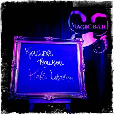 Veckans magiker på Magic Bar - Hans Lindström