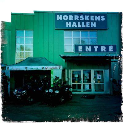 Entrén på höstmässan i Nordmaling
