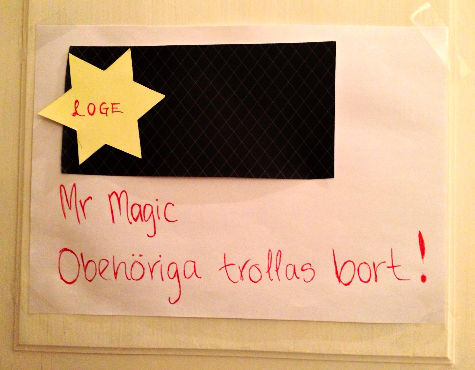 Trollkarl Hans Lindström magi på julfest i Göteborg @ Lev Väl