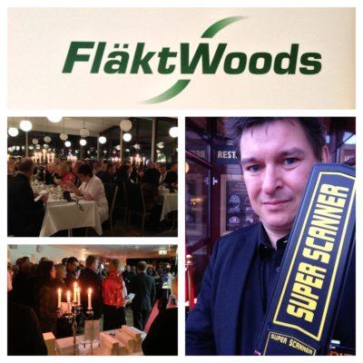 Magiker Hans Lindström underhåller på FläktWoods veteranfest i Jönköping