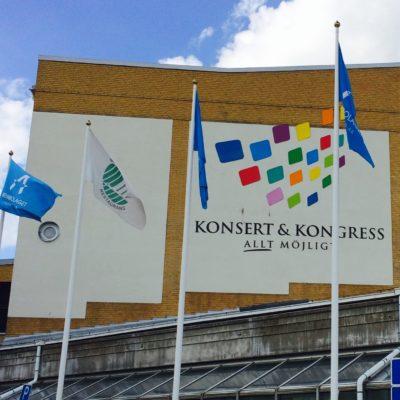Magiker på personalfest åt Ericsson i Linköping