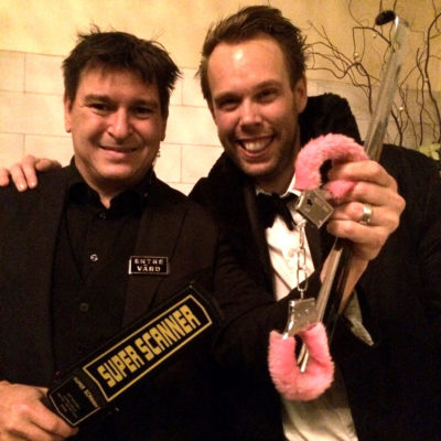 underhållning julfest göteborg lundins fastighetsbyrå magiker hans lindström dec 2014