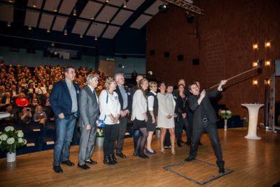 magiker konferencier företagsgalan ludvika 2015 selfie