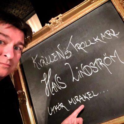 magiker hans lindström utför mirakel på magic bar i stockholm