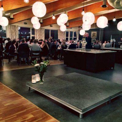underhållning konferensmiddag ÅF Runö kursgård