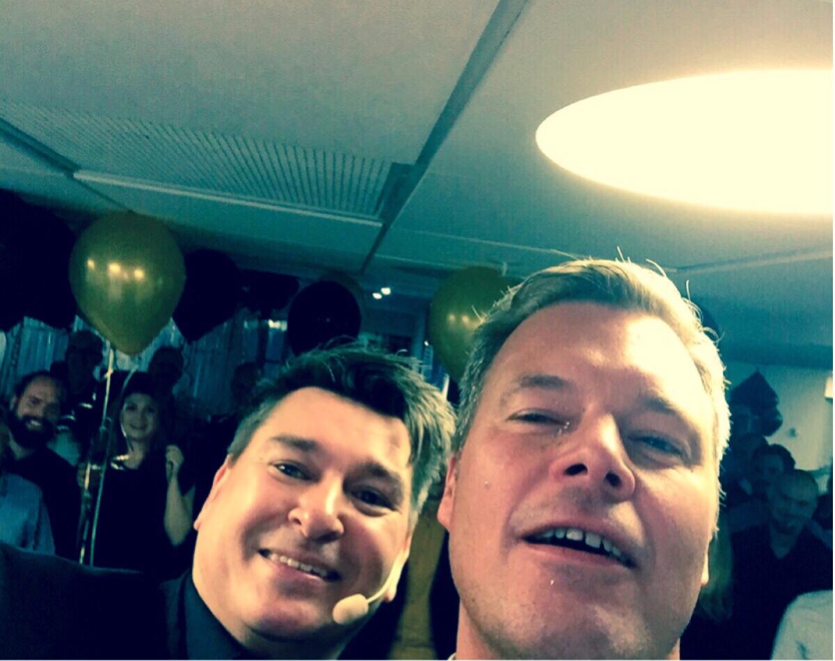 underhållning på personalfest åt Itello i Stockholm