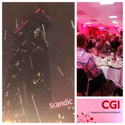 magiker i Stockholm på Scandic Victoria Tower åt CGI