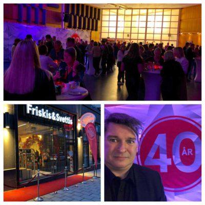 magiker jubileum Friskis&Svettis 40 år