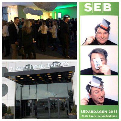 underhållning konferens SEB Ledarskapsdagen