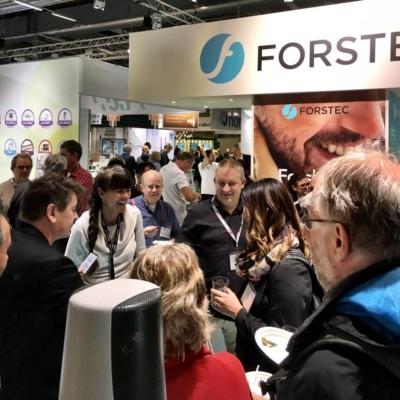 magiker på mässa åt Forstec på swedental mässan i Stockholm