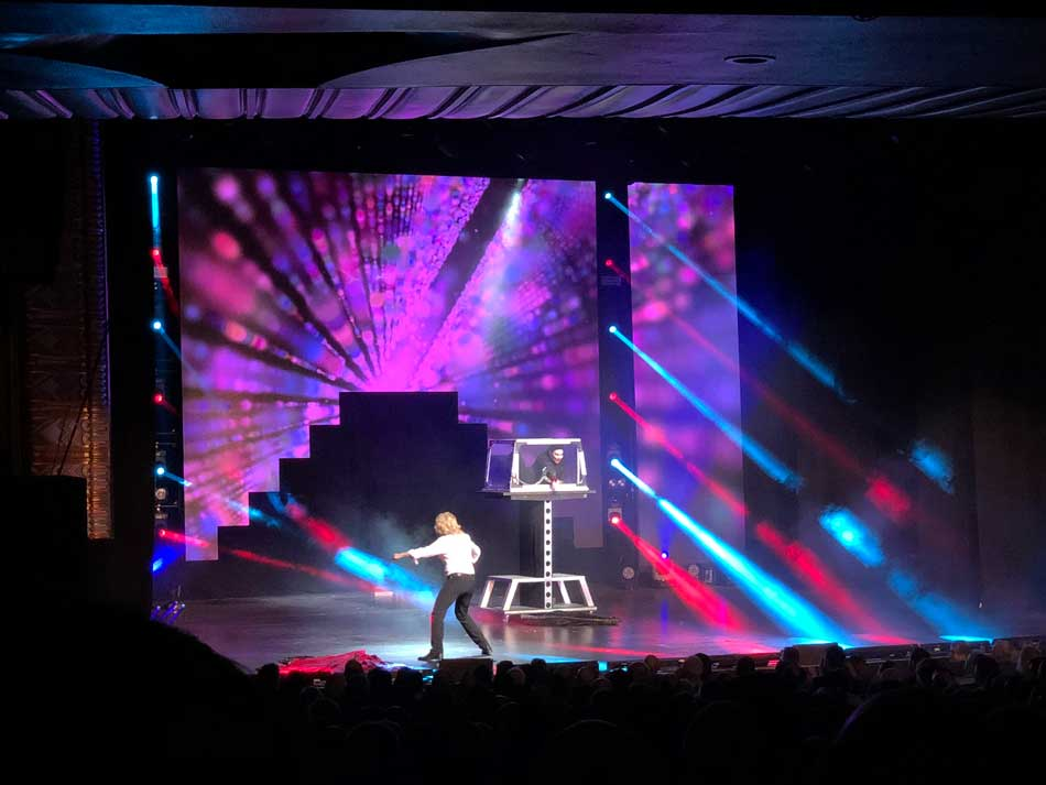 Blackpool magikongress illusionist